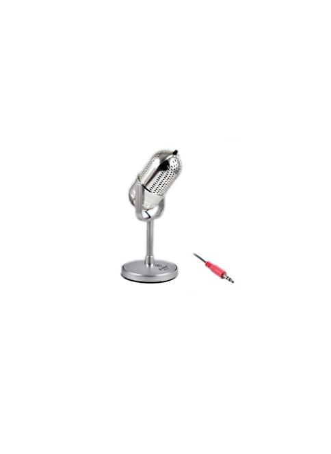 Platoon PL-2463 Pc Mikrofon Gümüş